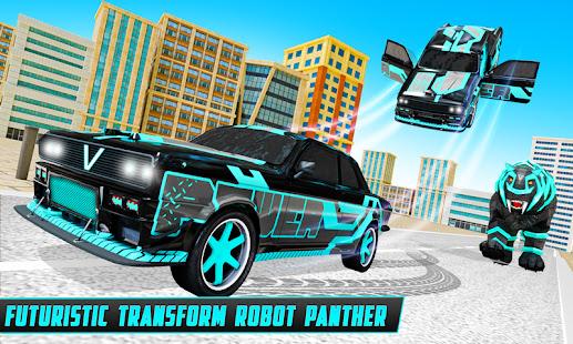 Panther Robot Transform Games 19.7.0 screenshots 1
