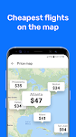 screenshot of Cheap flights and airline tickets - Aviasales