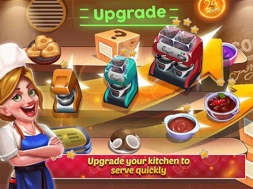 Kitchen Madness - Restaurant Chef Cooking Game Apkfinish screenshots 5