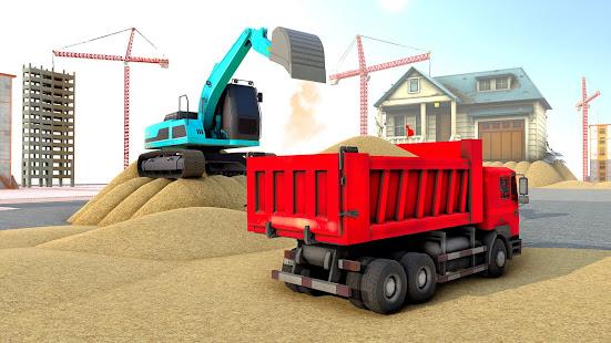 City House Construction Simulator Excavator Games 1.8 Screenshots 1