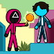 Stickman Red boy and Blue girl