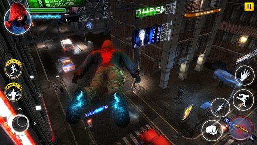 Incredible SuperHero Games : Crime City Gangster screenshots 5