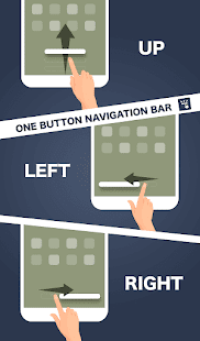 One Button Navigation Bar