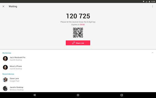 Send Anywhere (File Transfer) 21.6.3 Screenshots 5