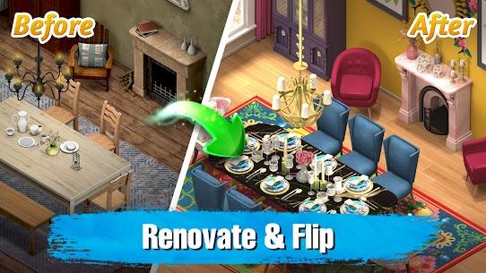 Room Flip Design Dream Home MOD (Unlimited Gold Coins) 2