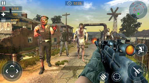 Zombie Assault Game: 3D Shooting Games Offline 1.6 screenshots 2