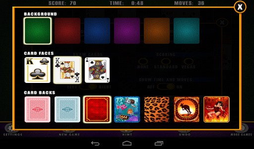solitaire by prestige gaming screenshot 3