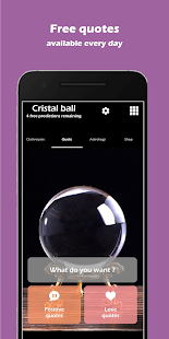 Crystal Ball : Predict your future