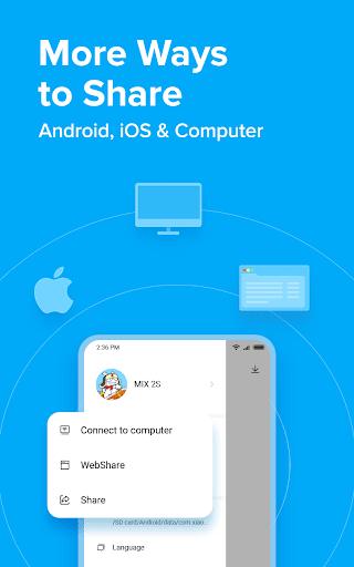 ShareMe  - #1 file sharing & data transfer app apktram screenshots 6