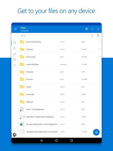 Microsoft OneDrive screenshots 8