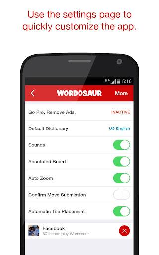 Wordosaur Top Rated Word Game 1.0.48 screenshots 6