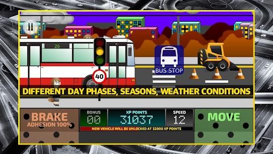 City Bus Driving Simulator 2D – coach driver sim Apk Download 5