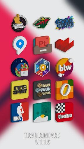 Tigad Pro Icon Pack apktram screenshots 6