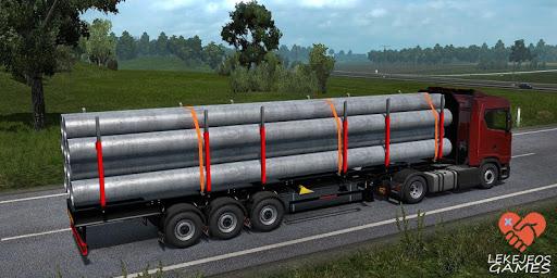 Euro Truck Driver Simulator : Lorry Trip 2020 1.1.7 screenshots 8