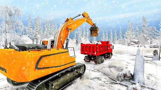 Grand Snow Excavator Simulator: Road Construction 3