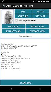 MFS100 Test 9.0.3.2 Screenshots 4