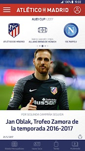 Atlético de Madrid Capture d'écran