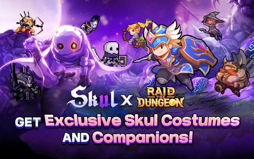 Raid the Dungeon : Idle RPG Heroes AFK or Tap Tap apkmr screenshots 9