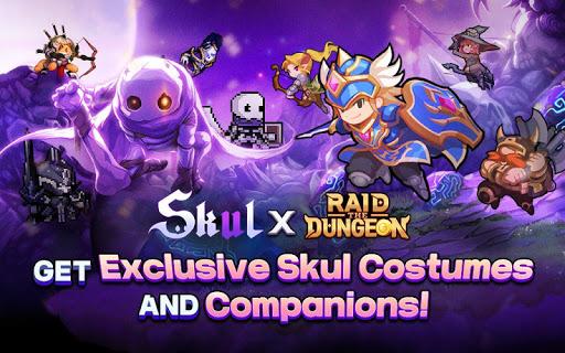 Raid the Dungeon : Idle RPG Heroes AFK or Tap Tap 1.8.1 screenshots 9
