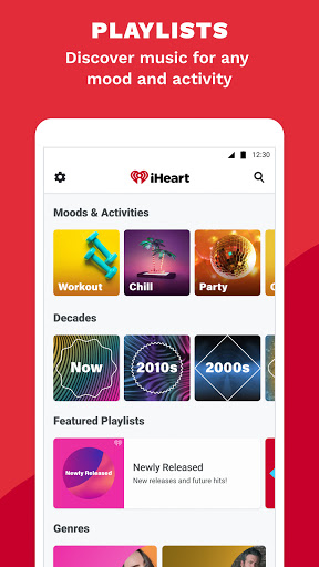 iHeart: Radio, Music, Podcasts android2mod screenshots 5