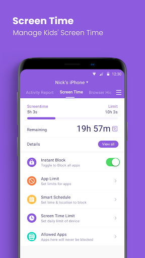 Parental Control App & Location Tracker - FamiSafe 4.5.4.165 Screenshots 4