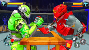 Real Robot Ring Fighting  2020