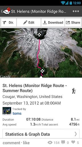 ramblr (hiking, gps, map) modavailable screenshots 2
