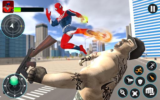 Flying Robot Hero - Crime City Rescue Robot Games 1.7.7 screenshots 7