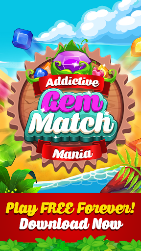 Addictive Gem Match 3 - Free Games With Bonuses  screenshots 5