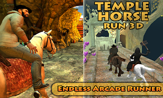 Temple Horse Ride- Fun Running Game