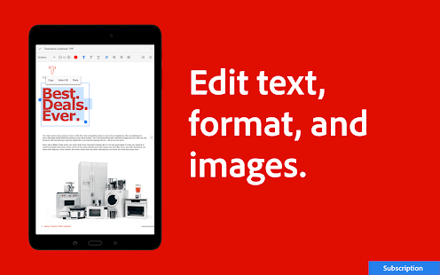Adobe Acrobat Reader: PDF Viewer, Editor & Creator 21.7.0.18750 Screenshots 14