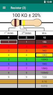 Resistor Color Code – Calculator (PRO) 1.1 Apk 3