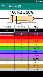 Resistor Color Code - Calculator