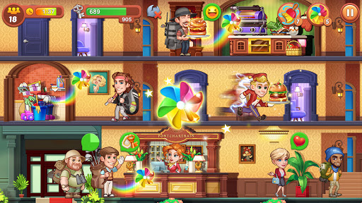Hotel Fever: Grand Hotel Tycoon Story  screenshots 13