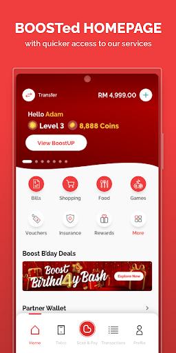 Boost eWallet - Cool & Rewarding way to pay  screenshots 1