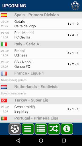 Soccer Forecast 1.3.8 screenshots 1