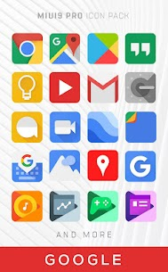 MIUI Icon Pack PRO Apk (Paid/Patched) 2