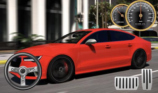 Drive Audi RS7 - City & Parking apkdebit screenshots 1