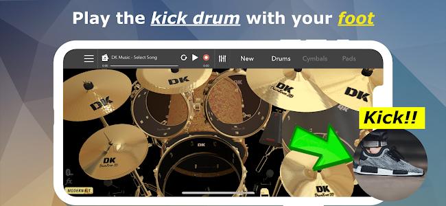 DrumKnee 3D Drums - real drum pad 1.1.3 (Pro)