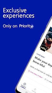 Discount Tickets, Spa Vouchers & more: O2 Priority 6.6.3 Mod APK Download 1