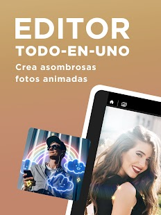 PhotoDirector -Foto Editor y Animador Screenshot