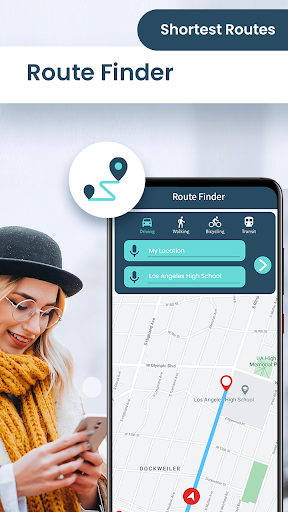GPS Navigation Live Map & Driving Directions Guide 1.1.0 Screenshots 1