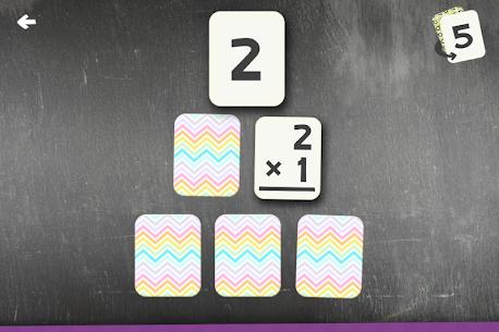 Multiplication Flash Cards Games Fun Math Practice Apk Download 4