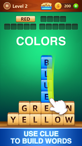 Word Fall - Brain training search word puzzle game android2mod screenshots 1