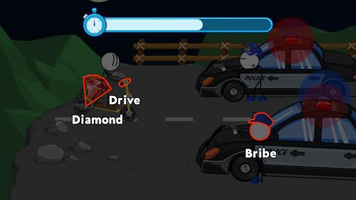 Stickmin Stories: Thief Escape  screenshots 4