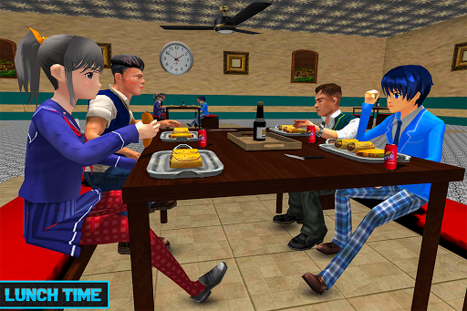 Virtual High School Life Simulator Offline 2020  screenshots 11