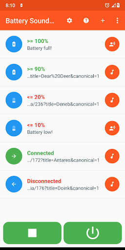 Image of Battery Sound Notification 2.5 1