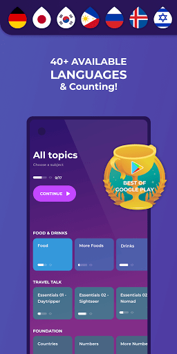 Drops: Language Learning - A Kahoot! Game screen 0