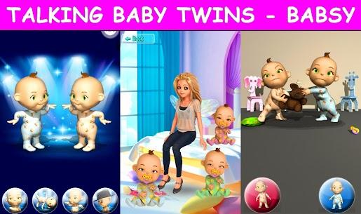 Free Talking Baby Twins – Babsy 1