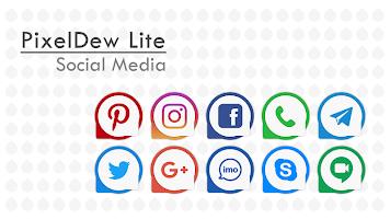 PixelDew Lite Icon Pack Free